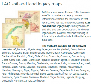 FAO_soil_and_land_legacy_maps